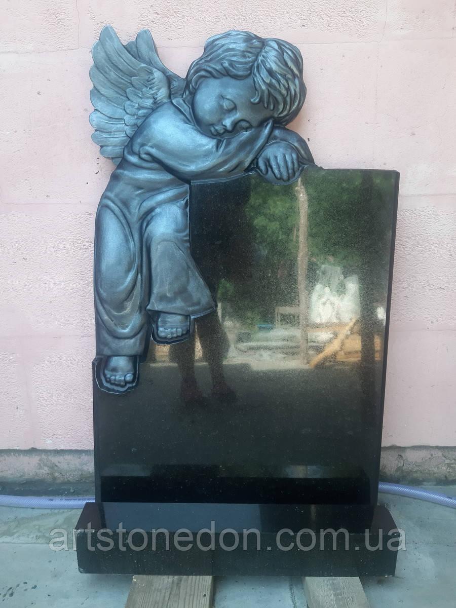 Детский памятник с ангелом №21