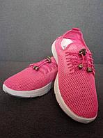 ✅ Оригинальные кроссовки с сеткой летние розовые Wei Wei (36-41р) 36