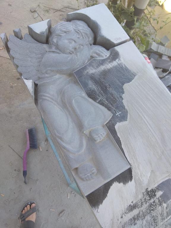 Детский памятник с ангелом №21  1