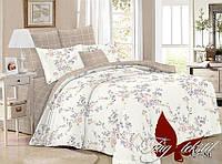 ✅ Полуторный комплект постельного белья (Поплин) TAG SL327