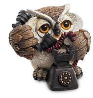 Статуэтка Сова телефонистка Sealmark OL-6494-XE
