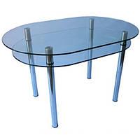 Стіл скляний кухонний КС-6