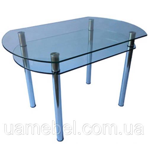 Cтол стеклянный кухонный КС-5