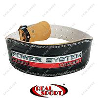 Пояс для тяжелой атлетики Power System PS-3100 Black, фото 1