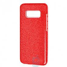 Чехол силиконовый Shine Samsung S10E G970 красный