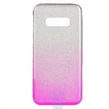 Чехол силиконовый Shine Samsung S10E G970 градиент розовый
