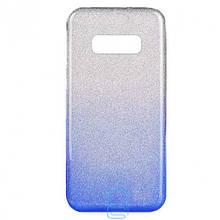 Чехол силиконовый Shine Samsung S10E G970 градиент синий