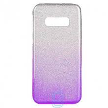 Чехол силиконовый Shine Samsung S10E G970 градиент фиолетовый