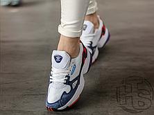 Женские кроссовки Adidas Falcon Crystal White Collegiate Navy CG6246, фото 2