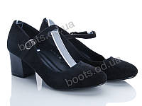"Туфли ""QQ shoes"" № KJ101-1 (р.36-41). Оптом."
