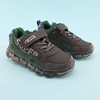 Кроссовки для мальчика Оливковые тм Том.М размер 26,27,28,29,30,31