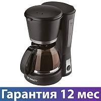 Кофеварка Scarlett SC-038 Black, 600W, капельная, кавоварка скарлет