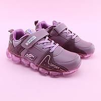 Розовые Кроссовки на девочку тм Том.М размер 33,34,35,37