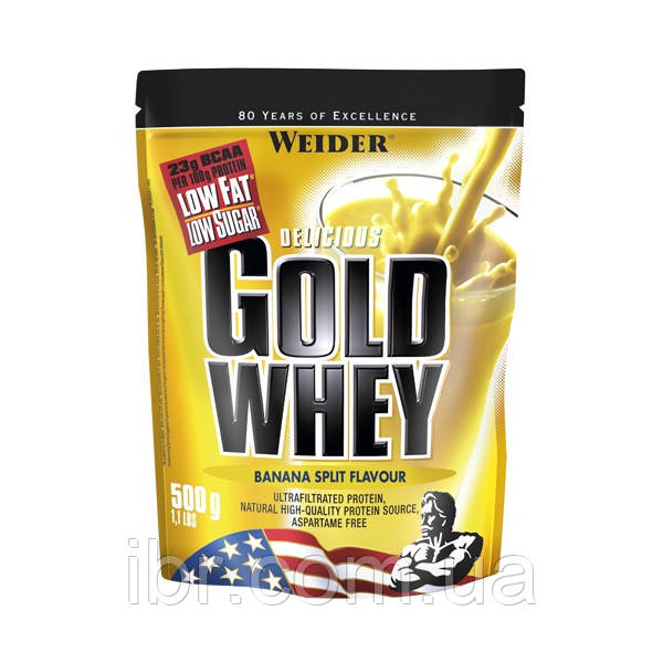 Протеин WEIDER GOLD WHEY 500 g Banana Split