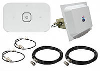 4G комплект Huawei E5573Bs-320,  Антенна 4G LTE MIMO MW TECH 1700-2700 MHz
