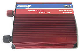 Преобразователь PowerOne Plus 12V-220V 500W, фото 2
