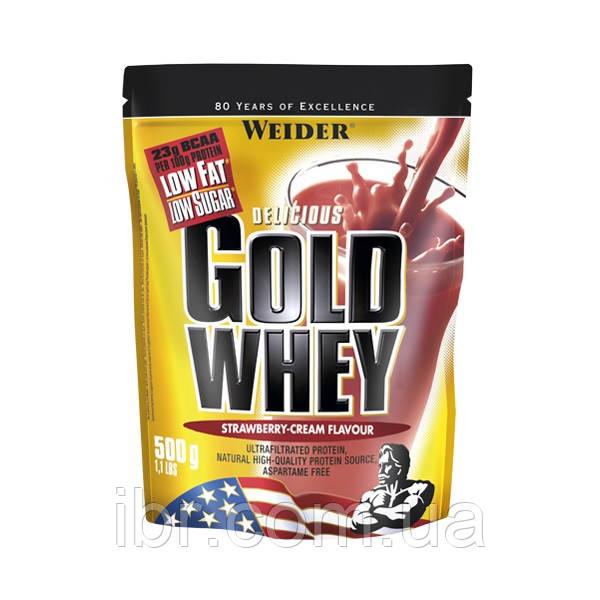 Протеин WEIDER GOLD WHEY 500 g Strawberry-Cream
