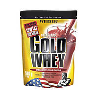 Протеин WEIDER GOLD WHEY 500 g Strawberry-Cream