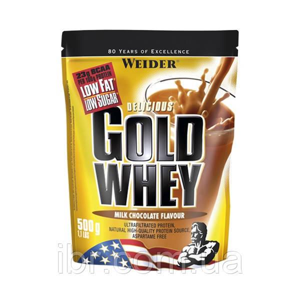 Протеин WEIDER GOLD WHEY 500 g Milk Chocolate