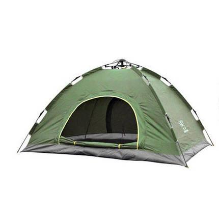 Палатка автоматическая, 2-х местная, Зеленая, фото 2