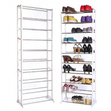 Полка для обуви Amazing Shoe Rack на 30 пар, фото 2