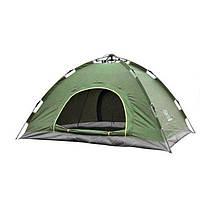 Палатка автоматическая, 2-х местная, Зеленая