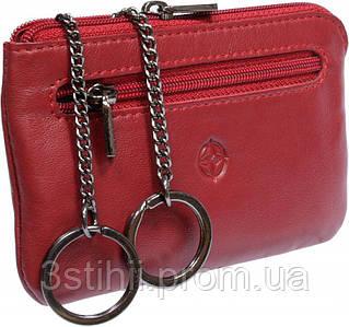Ключница кожаная Tony Perotti Cortina 5002-CR rosso Красная
