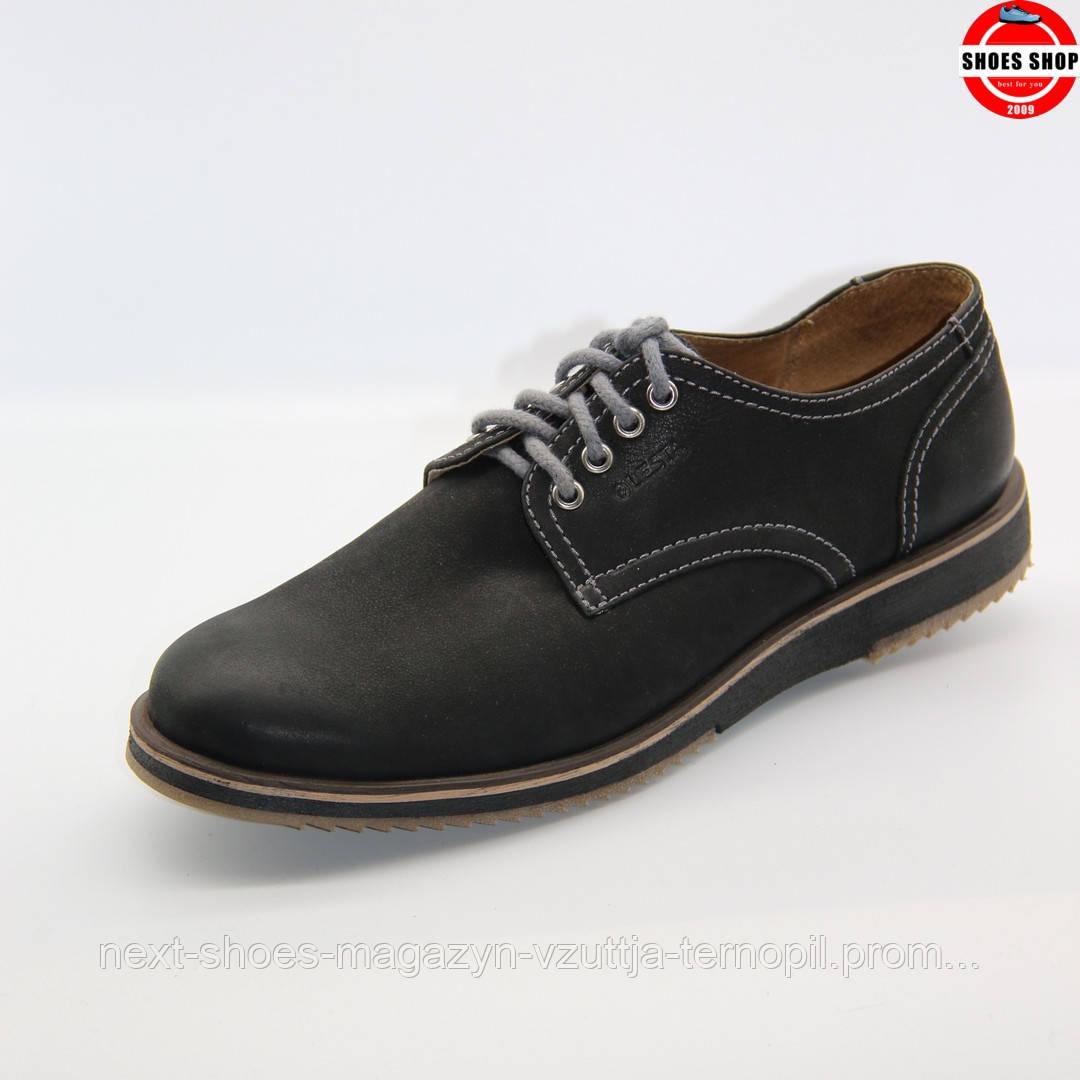 Чоловічі кросівки Lesta (Польща) чорного кольору. Дуже комфортні, для прогулянок . Стиль - Джуд Лоу