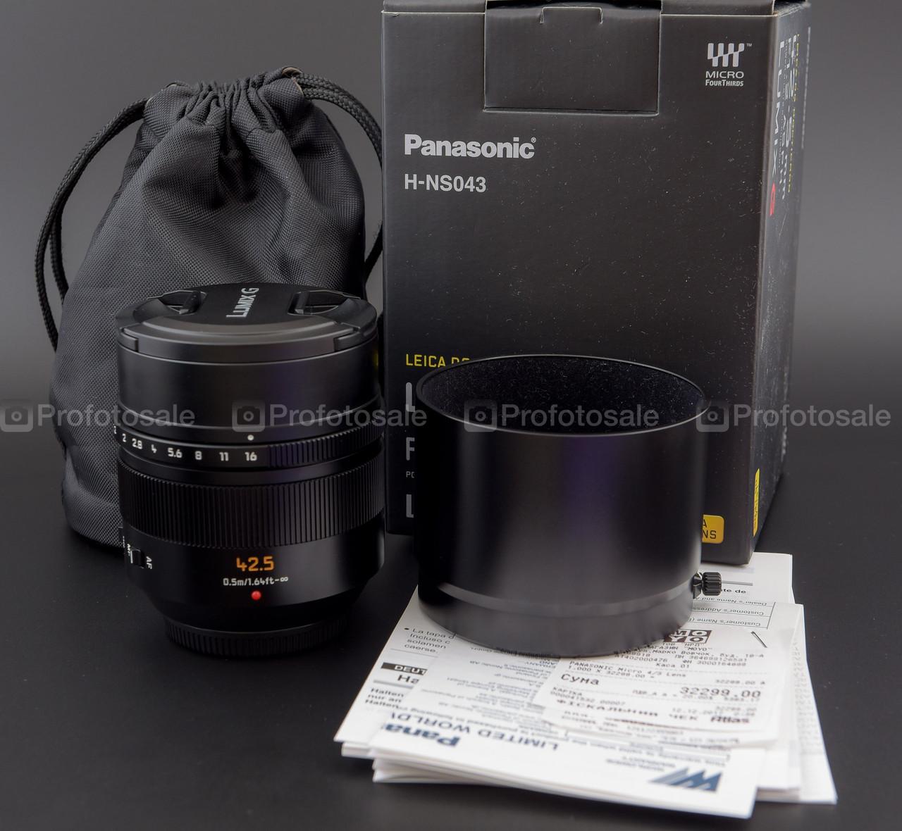 Panasonic Leica DG Nocticron 42.5 mm f/1.2 ASPH. POWER O.I.S. (H-NS043E)