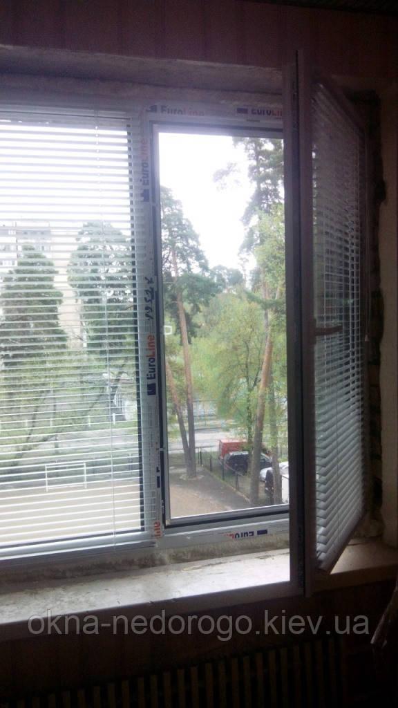 Горизонтальные жалюзи на окна ПВХ