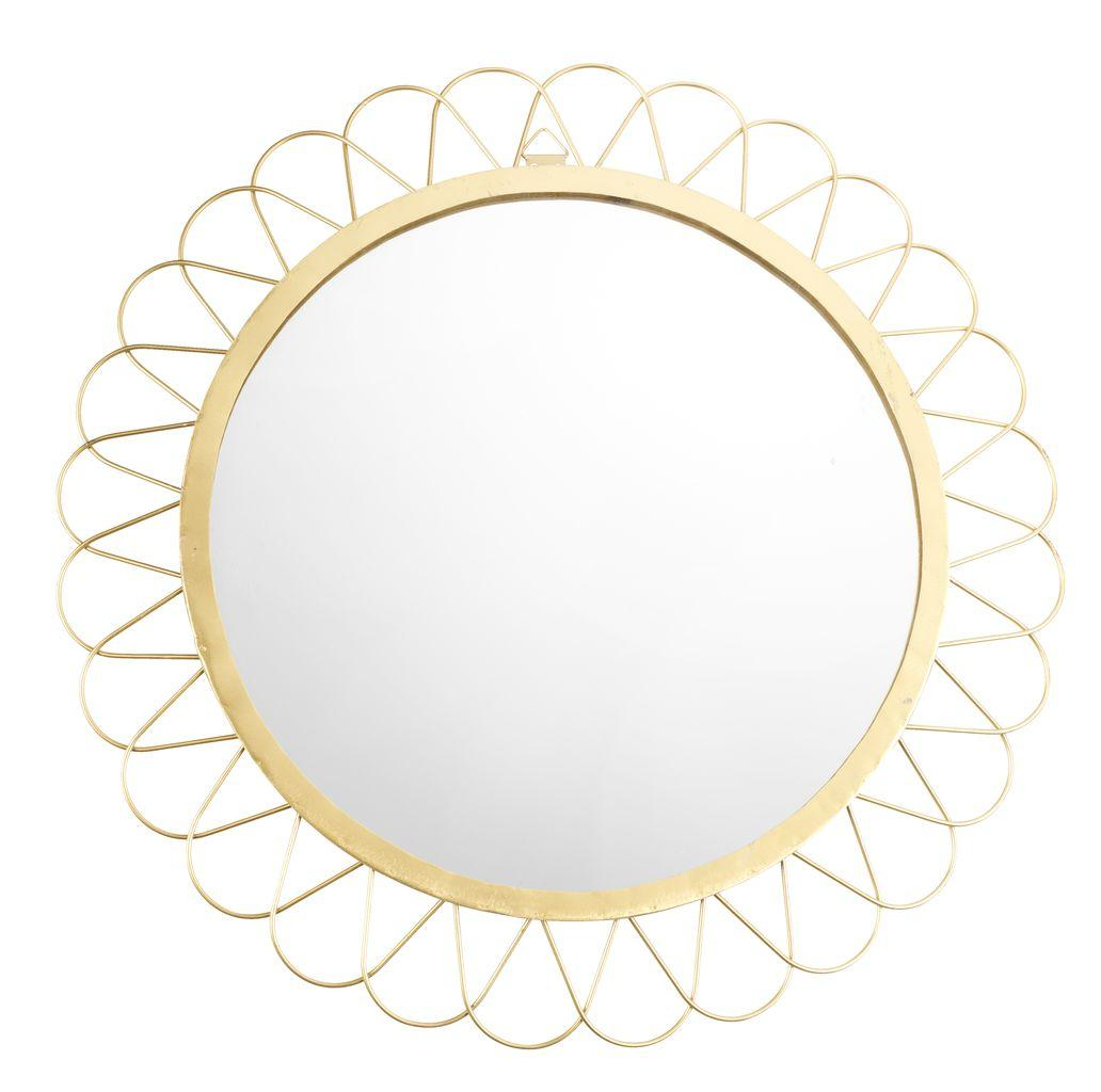 Декоративное круглое зеркало диаметр 40 см