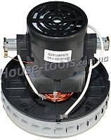 Двигатель моющего пылесоса VCM-H 1400W (Ø132mm, H130mm, h30mm)-Энергомаш ПП-72016, ПП-72030