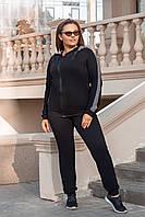 Женский чёрный спортивный костюм