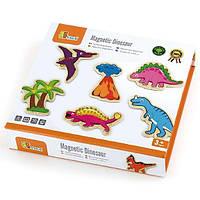 """✅ Набор магнитных фигурок Viga Toys """"Динозавры"""", 20 шт. (50289)"""
