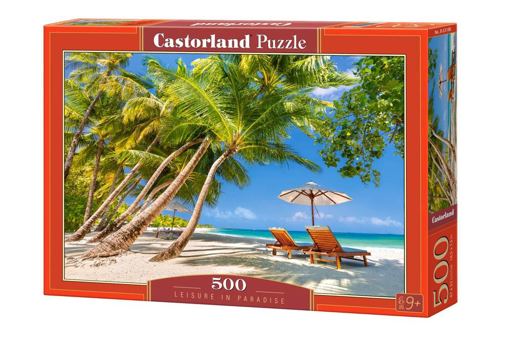 Пазлы Тропический пляж 500 элементов Castorland