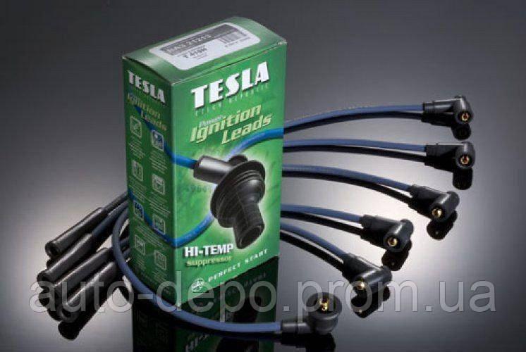 Свічкові дроти (силікон) ВАЗ 2108, 2109, 2099 інжектор Tesla