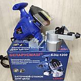 Бензопила Іскра ІБЦ-6300 + Верстат для заточування ланцюгів бензопил БЗЦ-1200, фото 2