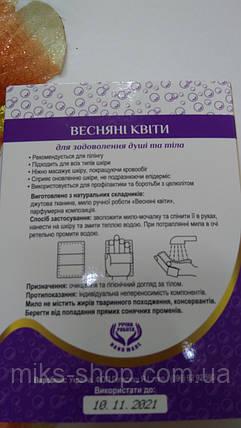 Жгутовое  мыло - мочалка , фото 2