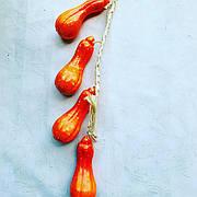 Искусственная Тыква.Вязка тыквы декоративной.