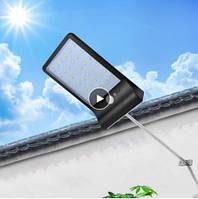 Светильник 8W на солнечной батарее. Светодиодный Led светильник с датчиком движения