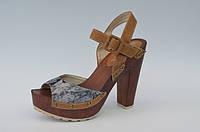 Женские боссоножки в стиле ВИНТАЖ на каблуке  рр 36