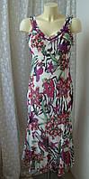 Платье женское летнее сарафан лето макси бренд Per Una р.42-44, фото 1