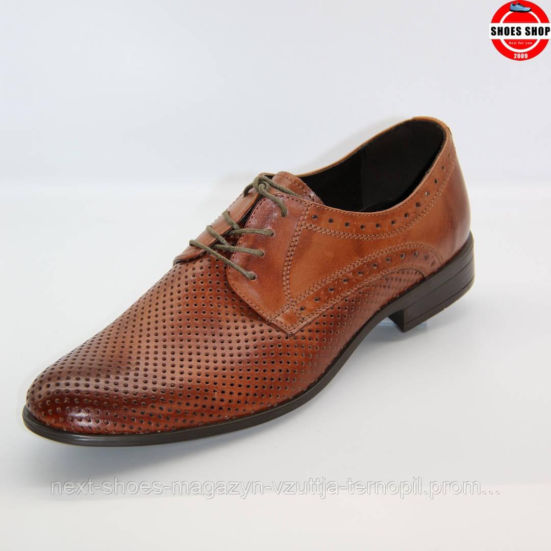 Чоловічі лофери TAPI (Польща) коричневого кольору. Дуже красиві та комфортні. Стиль - Джонні Депп