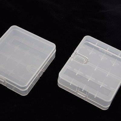 Пластиковый кейс (контейнер) для 4 аккумуляторов 18650, фото 2