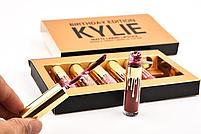 Набор жидких матовых помад Kylie Birthday Edition   Набор губной помады, фото 4