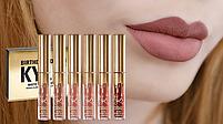 Набор жидких матовых помад Kylie Birthday Edition   Набор губной помады, фото 10