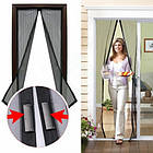 Антимоскитная сетка Magic Mesh на магнитах   Антимоскитная магнитная штора, фото 4