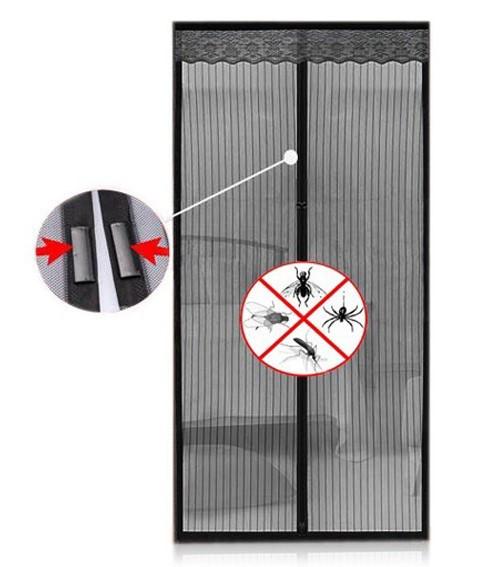 Антимоскитная сетка Magic Mesh на магнитах   Антимоскитная магнитная штора