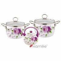 Набор эмалированной посуды Kamille KM5900A