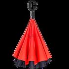 Зонт Наоборот Up-brella - Зонт Обратного Сложения | Красный, фото 4